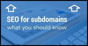 SEO Subdomains