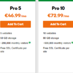 GoDaddy Pro WordPress Hosting